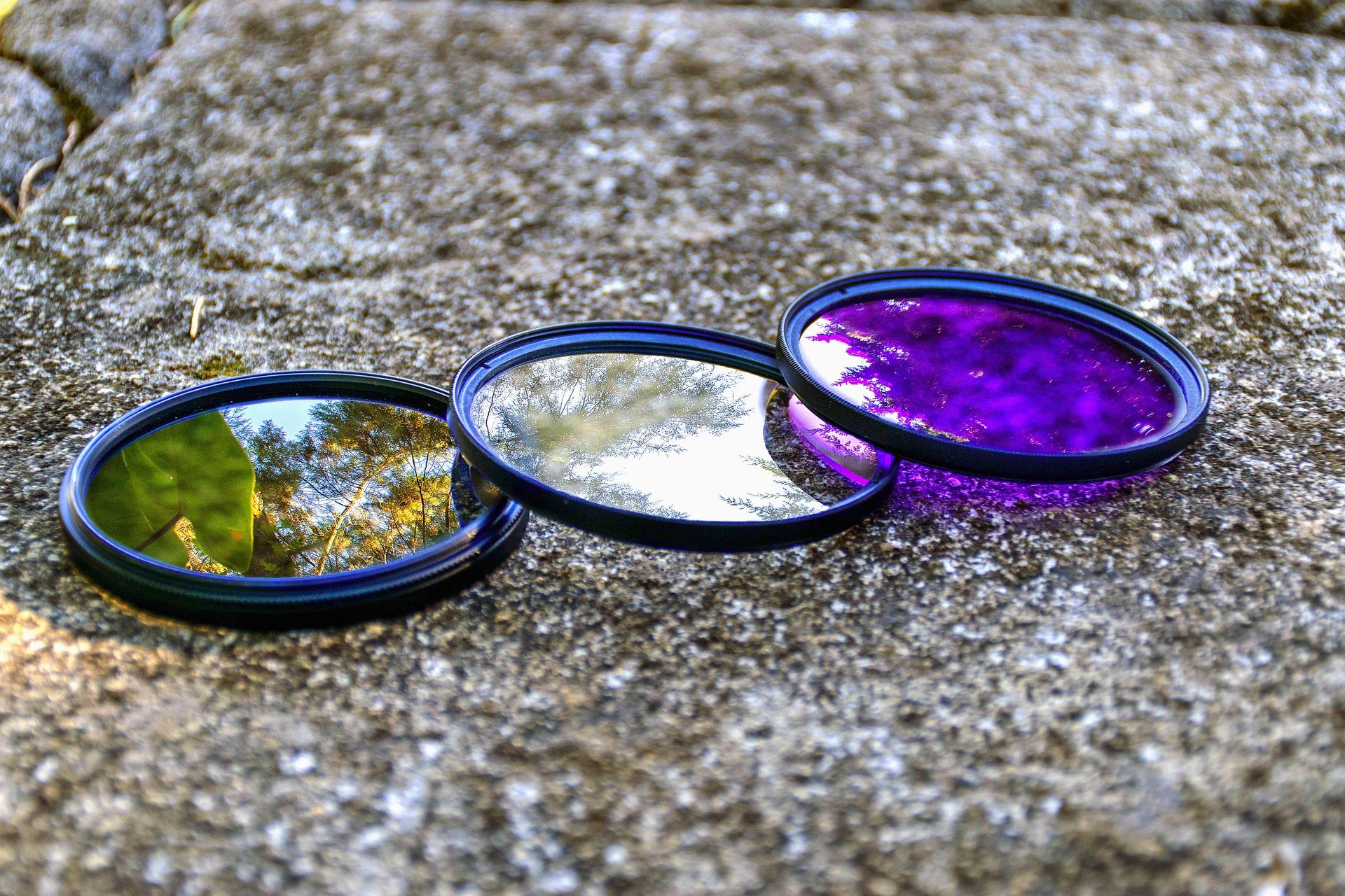 värvilised fotofiltrid